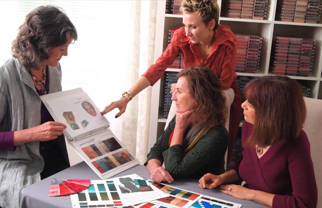 ladies at cdi conference color designer training